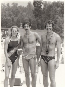 Deborah Cain, Mike Stott, Jim Miller @ CGL in 1983