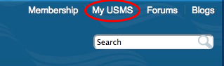 Click on MyUSMS
